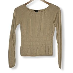 The Limited Silk Blend Sweater Top